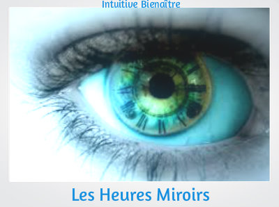 les heures miroirs On 18h18 heure miroir