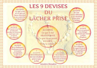 Les 9 devises du lacher prise1 1